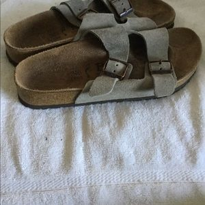 Betula by Birkenstock women Arizona sandals sz 38
